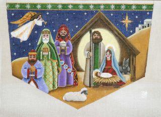 Rebecca nativity cuff