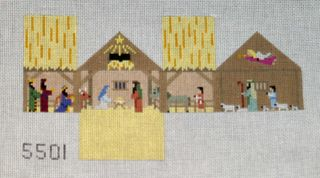 Susan Roberts nativity mini house
